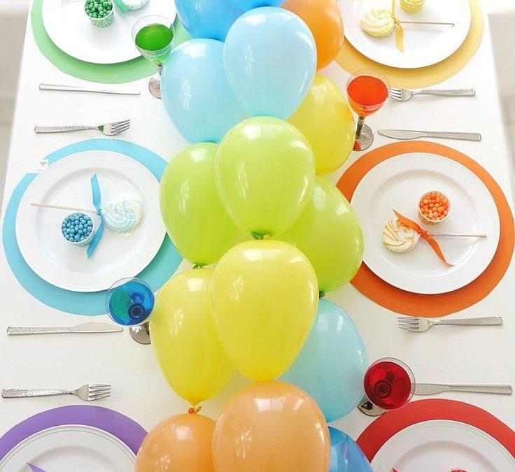 Sur Pinterest Table Arc-en-Ciel et DIY Guirlande de Ballons