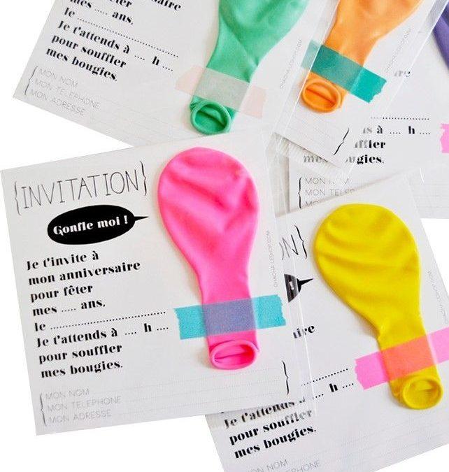 Sur Pinterest Carte-invitation-anniversaire-originale-enfant