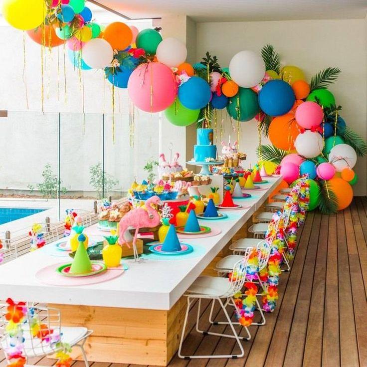 Sur Pinterest Idée déco anniversaire fille ou petit garçon en une trentaine d'images | Accro-Jeux