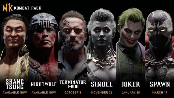 Gamescom 2019 - Annonce des combattants du DLC Mortal Kombat 11