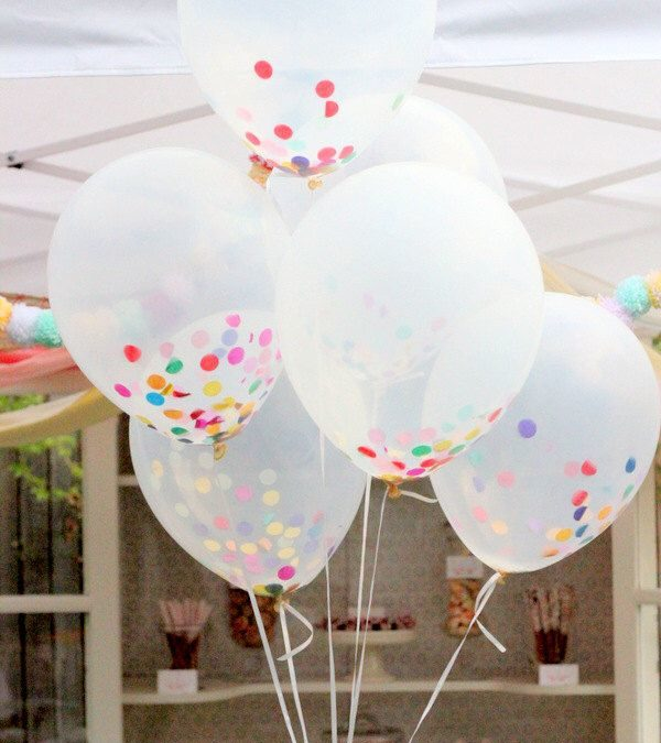 Sur Pinterest Clear Balloon Bouquet Set with Tassels & Confetti