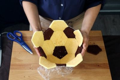 Sur Pinterest Gâteau ballon de foot