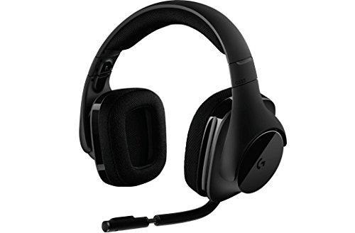 Casque de jeu sans fil Logitech G533 - Son surround DTS 7.1 - Pilotes audio Pro-G