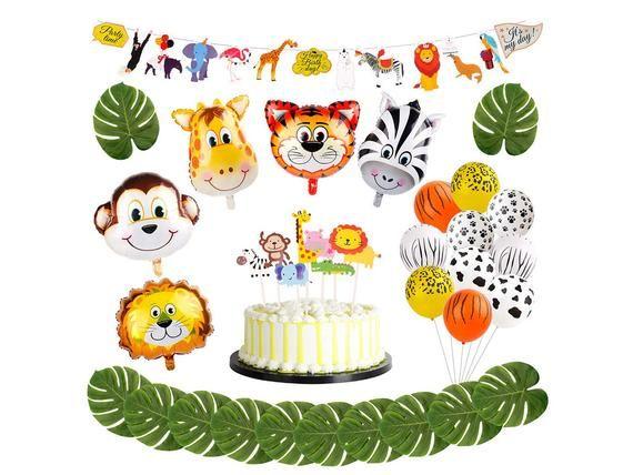 Sur Pinterest Animal Decorations Safari Party Supplies – Jungle Theme Party Supplies