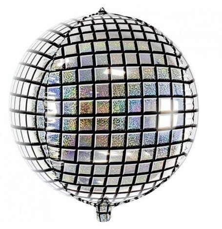 Sur Pinterest Ballon Mylar Rond Disco mesurant 40 cm de diamètre idéal pour une fête