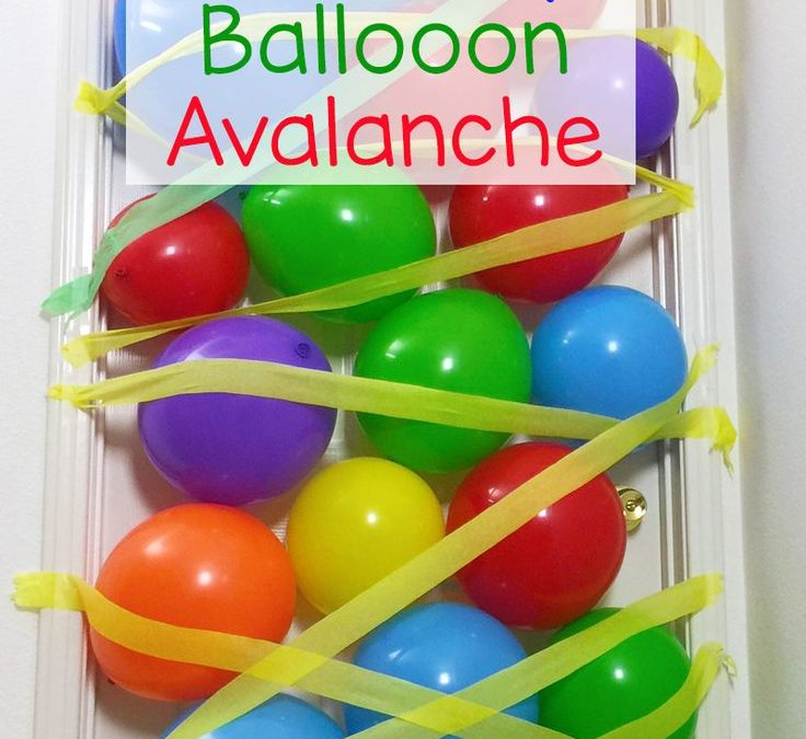 Sur Pinterest How to Make A Kids Birthday Balloon Avalanche
