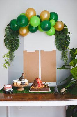 Sur Pinterest Jurassic Park Birthday Party