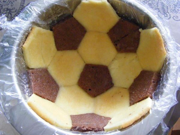 Sur Pinterest Gâteau «ballon de foot»