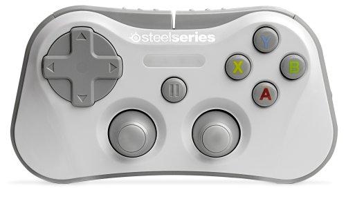 Contrôleur de jeu sans fil SteelSeries Stratus pour iPhone, iPad et iPod Touch - Blanc