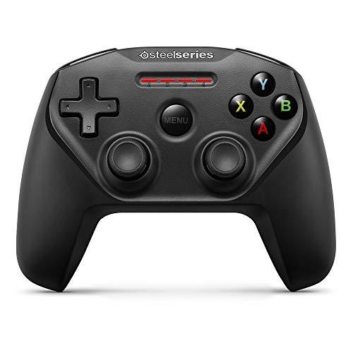 Contrôleur de jeu mobile SteelSeries Nimbus Bluetooth - Iphone, iPad, Apple TV - Autonomie de plus de 40 heures - Certifié Mfi - Prend en charge Fortnite Mobile