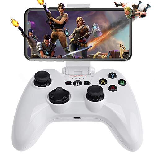 Contrôleur de jeu mobile sans fil iOS (certifié MFi), prise en charge du joystick Megadream Gampad pour iPhone Xs, XR X, 8 Plus, 8, 7 Plus, 7 6S 6 5S 5, iPad, iPad Pro Air Mini, Apple TV - Lecture directe