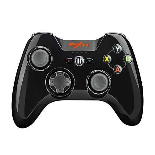 Manette de jeu certifiée Mfi PXN Speedy (6603) iOS avec clip de téléphone pour Apple TV, iPad, iPhone (noir)
