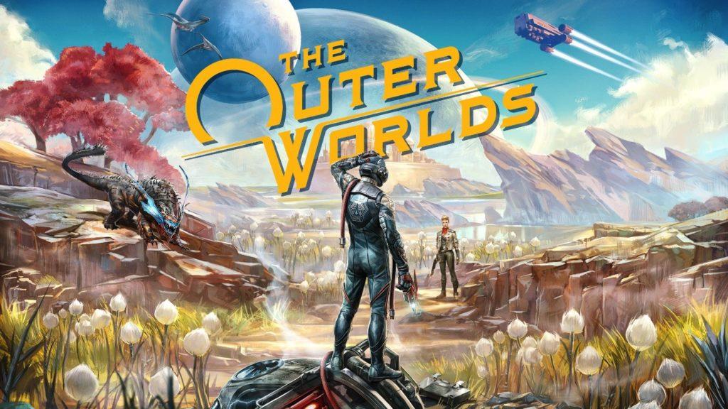Support promotionnel pour The Outer Worlds, meilleur moteur de jeu pour les graphiques
