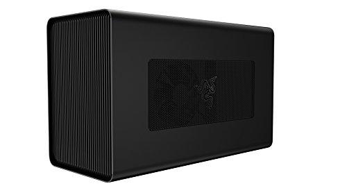 Boîtier GPU externe en aluminium Razer Core X (eGPU): Compatible avec les ordinateurs portables Thunderbolt 3 Windows et Mac - Prise en charge PCIe NVIDIA / AMD - Alimentation 650W