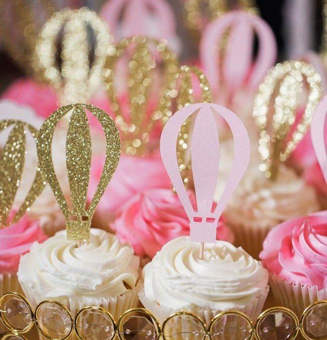 Sur Pinterest Gorgeous Hot Air Balloon 1st Birthday Party