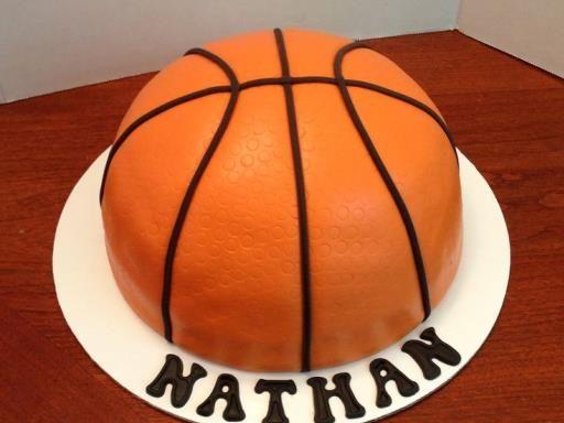 Sur Pinterest Gâteau ballon de basketball