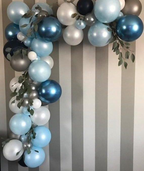 Sur Pinterest 1st Birthday Boy balloon garland kit-First Birthday-Balloon